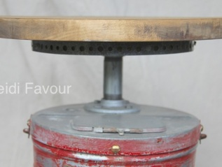 Fire Extinguisher Side Table