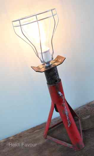 Red Jack Lamp